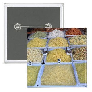 Pastas cereal cesta comida italiana mercado pins