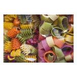 Pastas coloreadas multi, Torri del Benaco, Verona Fotografías
