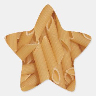 Pastas de Penne Pegatina En Forma De Estrella