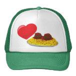 ¡Pastas del amor!  Personalizable: Gorro De Camionero