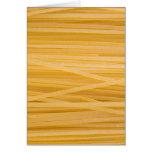 Pastas del trigo integral tarjetas