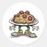 Pastas Etiquetas Redondas