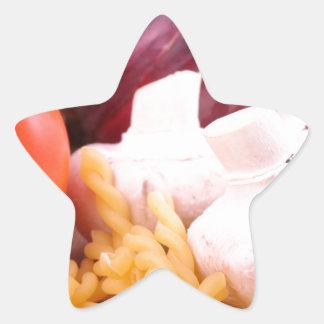 Pastas Pegatina En Forma De Estrella