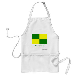 Pastaza flag with Name Adult Apron