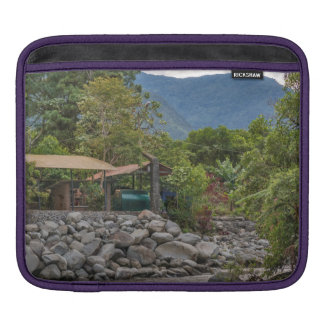 Pastaza River and Leafy Mountains in Banos Ecuador Sleeve For iPads