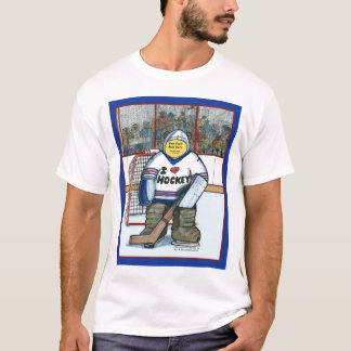 Paste-A-Face in the Hockey Goalie T-Shirt