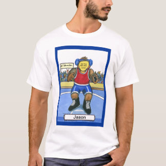 Paste-A-Face in the Wrestler T-Shirt