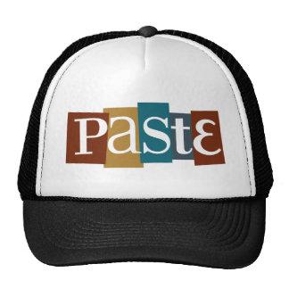 Paste Block Logo Color Trucker Hats