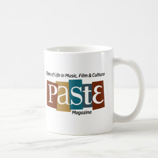 Paste Block Logo Mag and Tag Color Coffee Mug