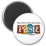 Paste Block Logo Mag and Tag Color Refrigerator Magnet