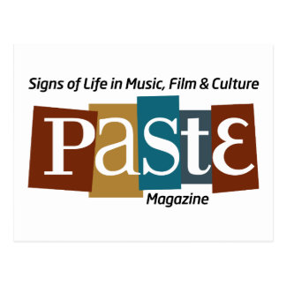 Paste Block Logo Mag and Tag Color Post Card