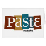 Paste Block Logo Magazine Color Card