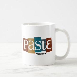 Paste Block Logo Magazine Color Coffee Mug