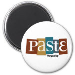 Paste Block Logo Magazine Color Magnets