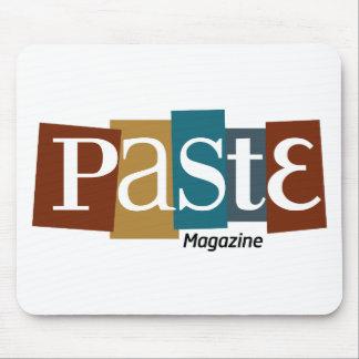 Paste Block Logo Magazine Color Mouse Pads