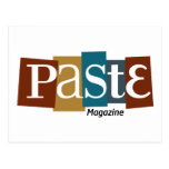 Paste Block Logo Magazine Color Postcard