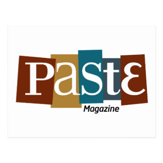 Paste Block Logo Magazine Color Postcards