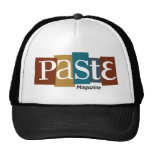 Paste Block Logo Magazine Color Trucker Hat