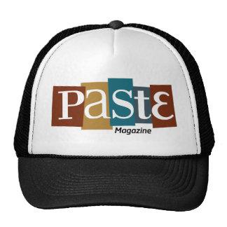 Paste Block Logo Magazine Color Trucker Hat