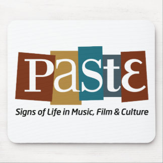 Paste Block Logo Tag on Bottom Color Mouse Pad