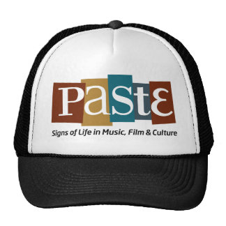 Paste Block Logo Tag on Bottom Color Trucker Hat