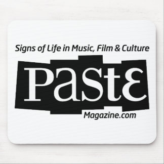 Paste Block Logo Url and Tag Black Mouse Mats