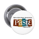 Paste Block Logo Url and Tag Color 2 Inch Round Button