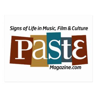 Paste Block Logo Url and Tag Color Postcard