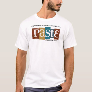 Paste Block Logo Url and Tag Color T-Shirt