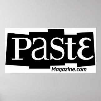 Paste Block Logo Url Black Posters