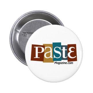 Paste Block Logo URL Color 2 Inch Round Button