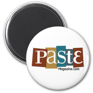 Paste Block Logo URL Color 2 Inch Round Magnet