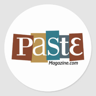 Paste Block Logo URL Color Classic Round Sticker