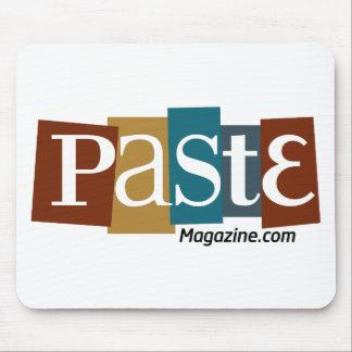 Paste Block Logo URL Color Mouse Mats