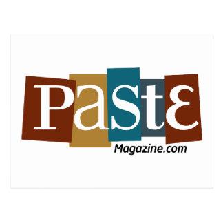 Paste Block Logo URL Color Post Card