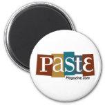 Paste Block Logo URL Color Refrigerator Magnet