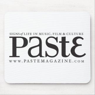 Paste Classic Black Logo Mousepad