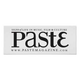 Paste Classic Black Logo Poster Print