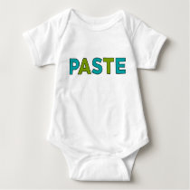 PASTE - Copy & Paste for Twins Baby Bodysuit