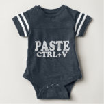 PASTE Ctrl+V Copy Paste Twins Infant Bodysuit