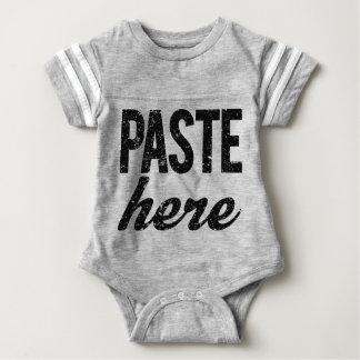 PASTE For Copy Paste Twins Baby Bodysuit