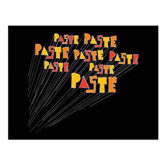 Paste Hand Drawn Logo Array Postcard