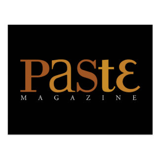 Paste Issue 2 Classic Logo Postcard