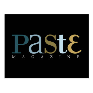 Paste Issue 3 Classic Logo Postcard