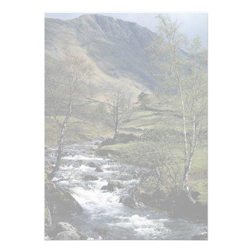 Paste la cuba de tintura en Hartsop bajo, Cumbria, Invitacion Personalizada