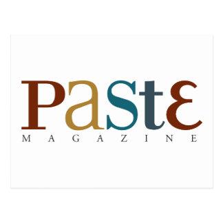 Paste Official Logo Postcard