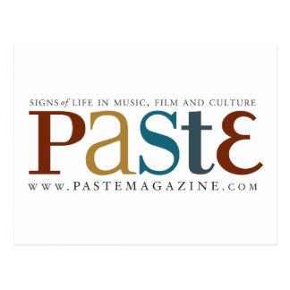 Paste Original Logo Postcard
