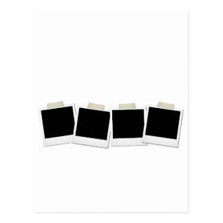 Pasted Polaroids Postcard