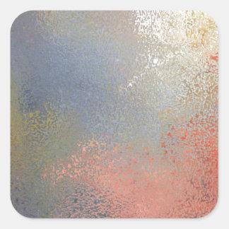 Pastel #2 square sticker