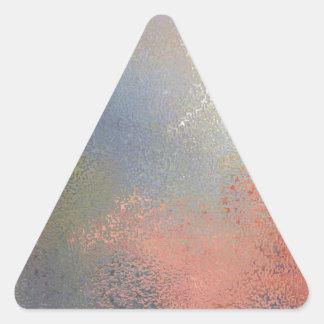 Pastel #2 triangle sticker